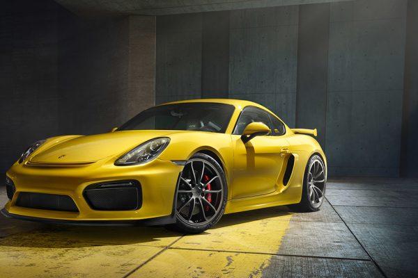 Cayman Porsche GT4