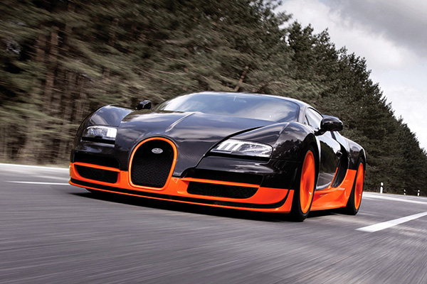 เปิดตำนานรถที่ขึ้นแท่นว่าเร็วที่สุดในโลกอย่าง Bugatti Veyron