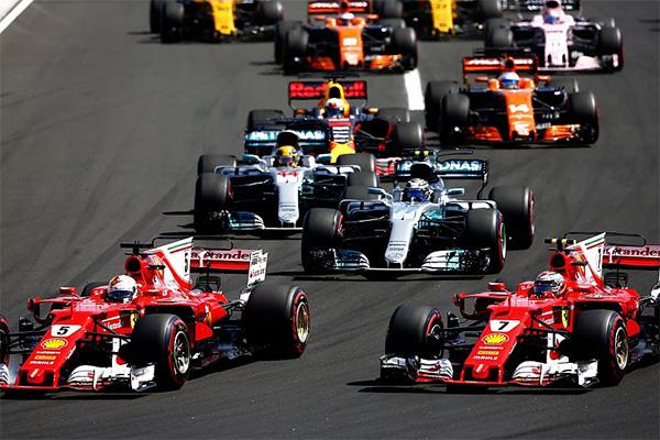 ประวัติการ แข่งขัน F1 หรือรถสูตรหนึ่ง